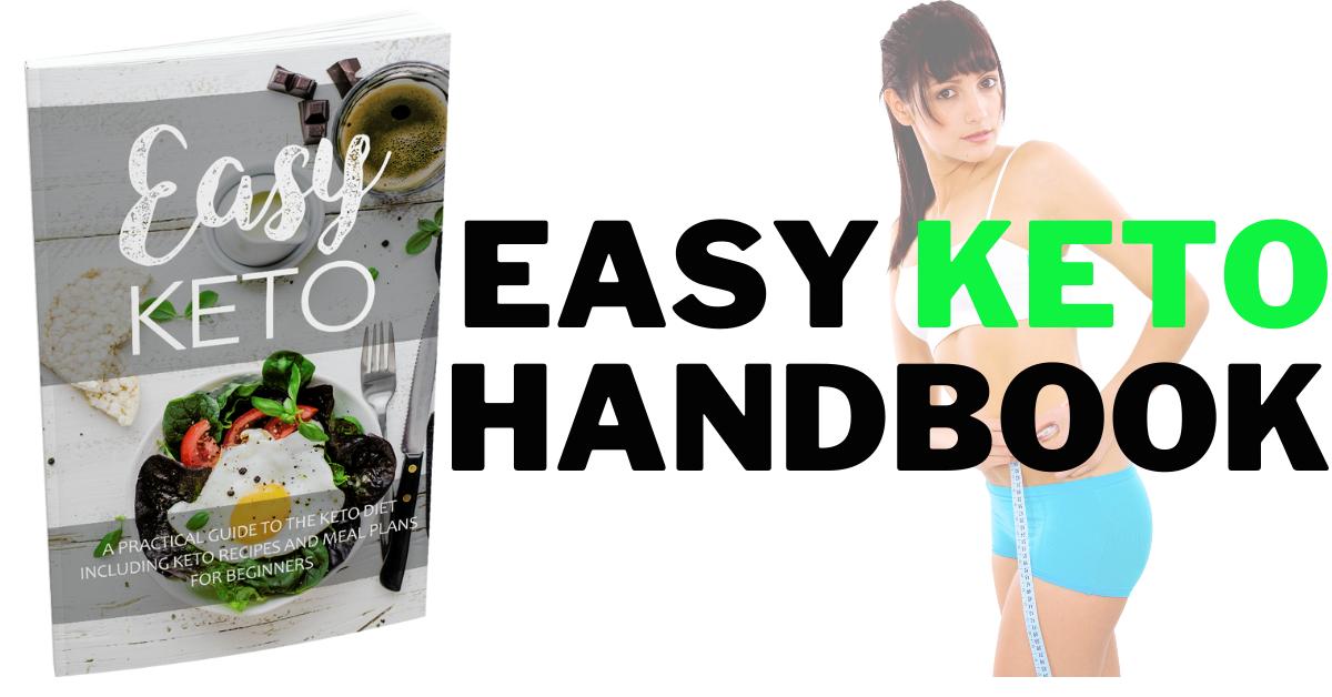 I Will Provide Easy Keto Handbook