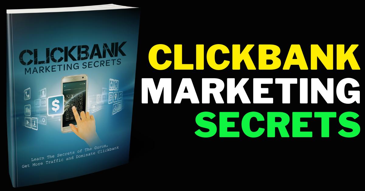 I Will Provide ClickBank Marketing Secrets Handbook