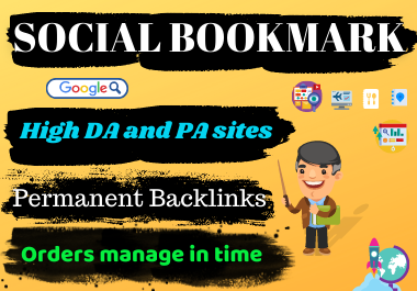 I Will Do 10 High Quality Social Bookmarking To Rank Your Business