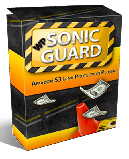 WP Sonic Guard Amazon S3 Link PRotection PLugin Software selling