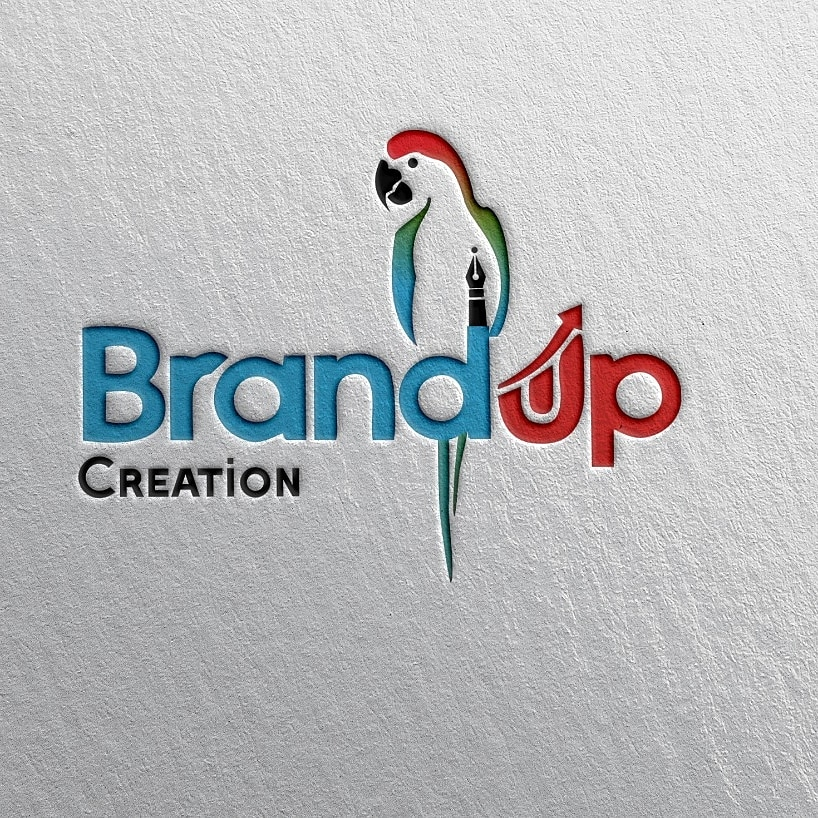 Brand Up Creation best logo design and wold cluad Art Design Best photos editing