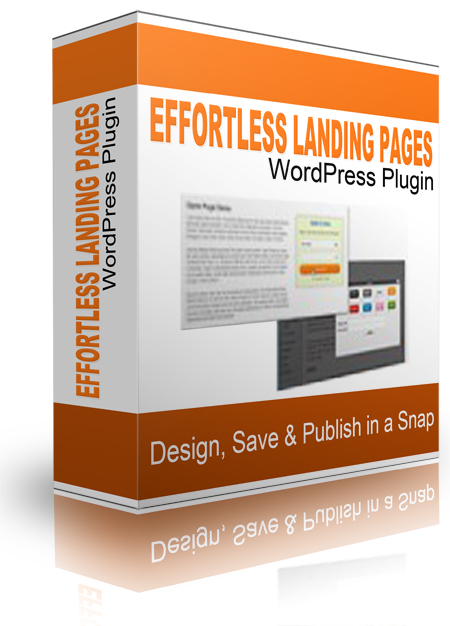 Effortless Landing pages WoedPress Plugin
