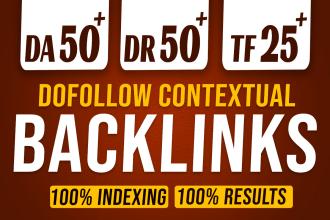 I will create 100 Dofollow high quality backlinks manually work