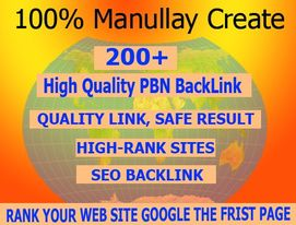 I will do 200+ powerful pbn homepage backlinks on high da pa