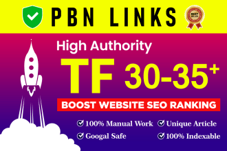 I will do 50 powerful pbn homepage backlinks on high da pa