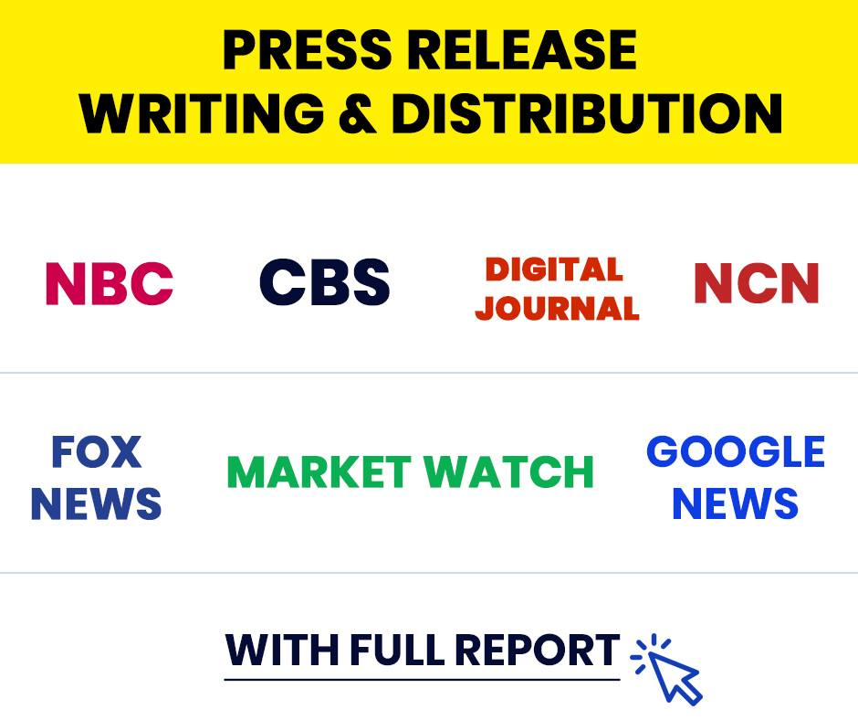 I will write SEO press release and premium distribution on top news sites