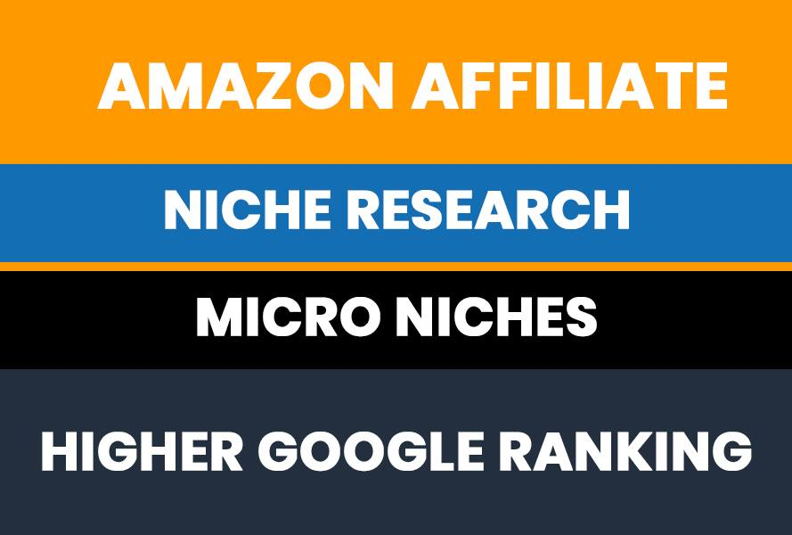 I will Research a Profitable Amazon Affiliate keyword with Complete Competitor Analysis