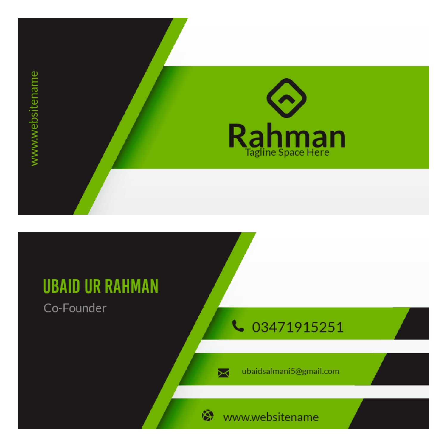 I design all types of business card