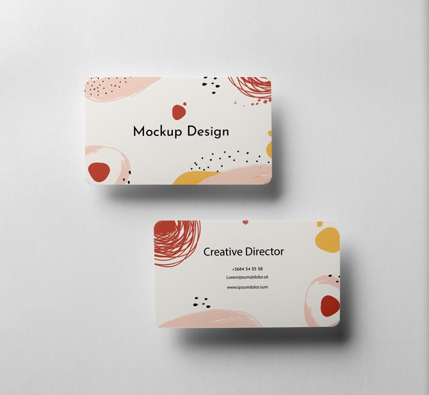 I will design minimal and elegant business cards