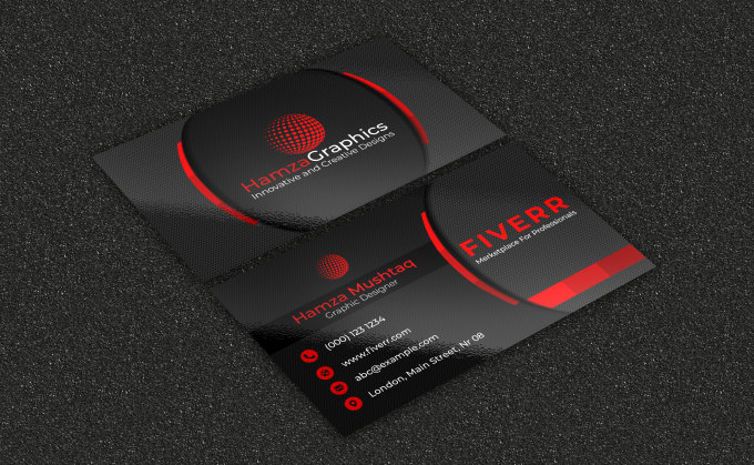 will do creating a business card