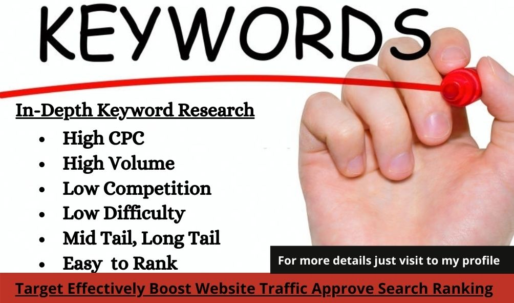 Keyword Research for Search Engine Optimization