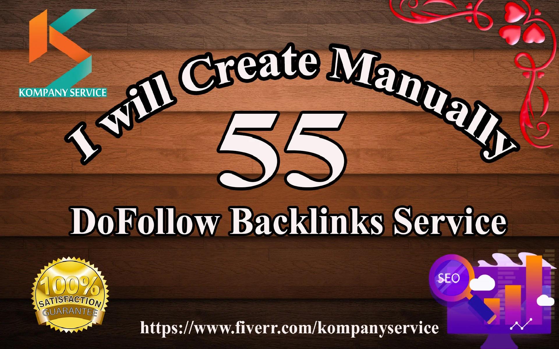I will do 55 blog comment on high pa da links
