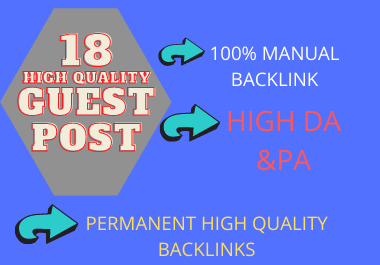 I will18 publish to Gust post seo backlinks on high HQ website