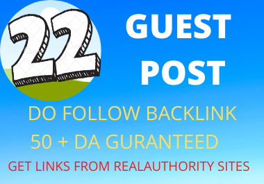 I will Write and publish to 22 Gust post on HIGH DA 60 pluswebsite