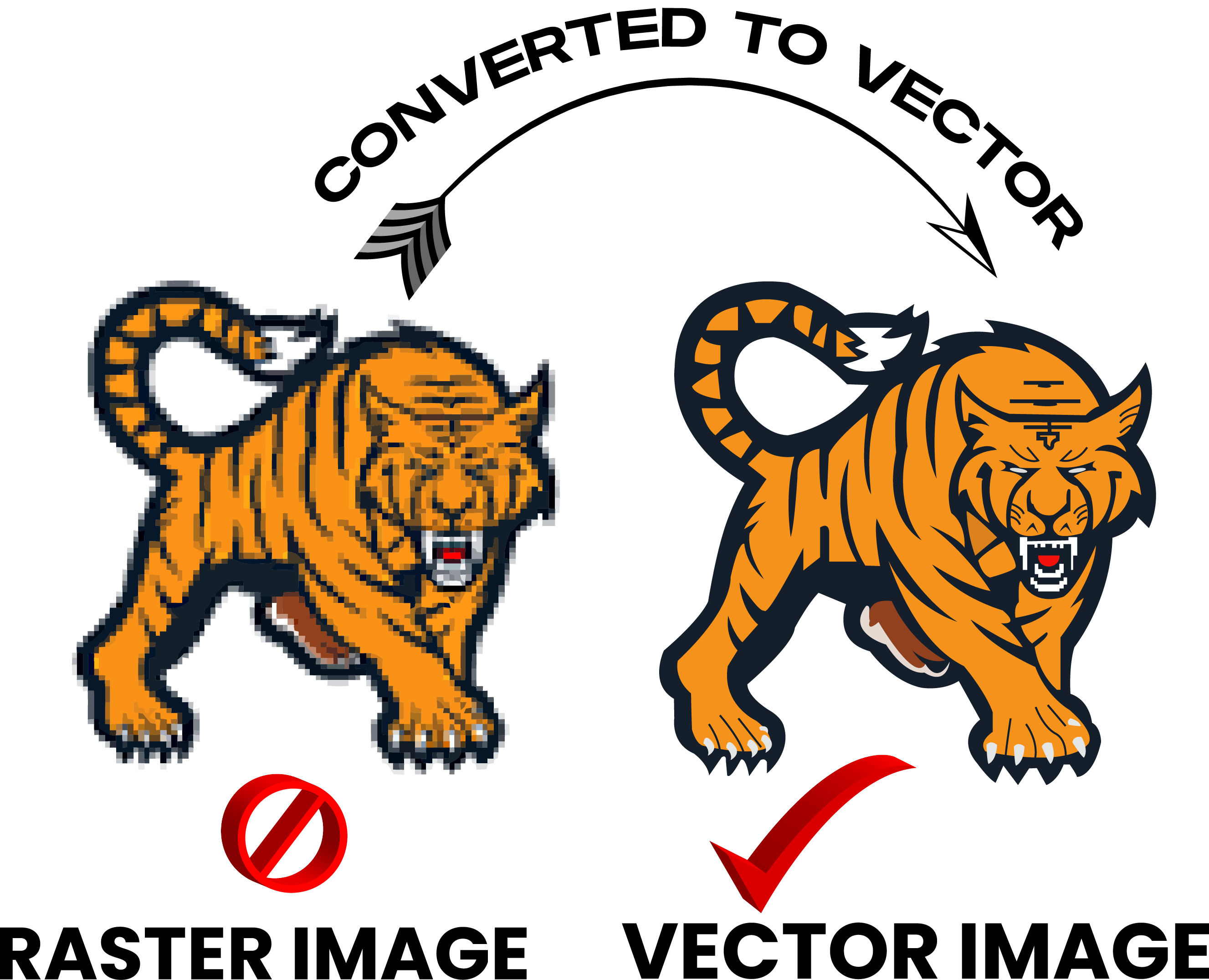 Logo,  Icon,  Trace,  Vector Tracing, Redraw or Convert to Vector professionally