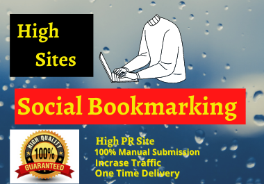 20 Social Bookmarking High Quality backlinks to create do follow back links for google top ranking