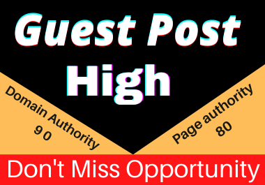 Write and Publish10 Guest posts Unique article high authority website permanent backliks