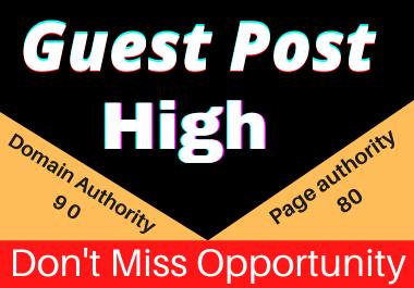 Write and Publish 30 Guest posts Unique article high authority website permanent backliks