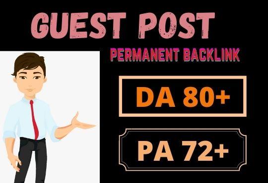 25 Da guest posting google news site permanent dofollow link