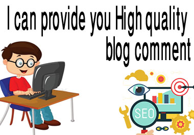I will create manually 50 blog comment Backlinks