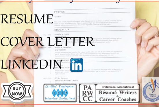 I will upgrade and create your LinkedIn resume and cover letter