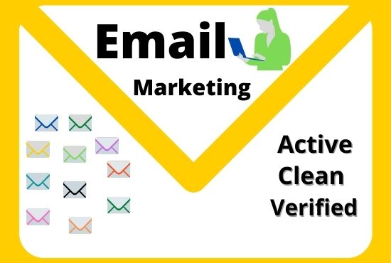 I will scrape 1100 emails for your target email marketing