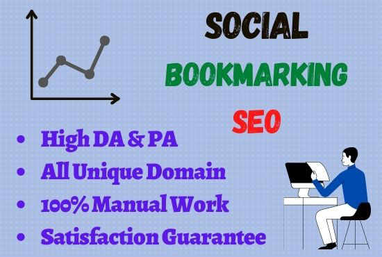 I Will Provide A Number of 30+ Social Bookmarking For Your Website