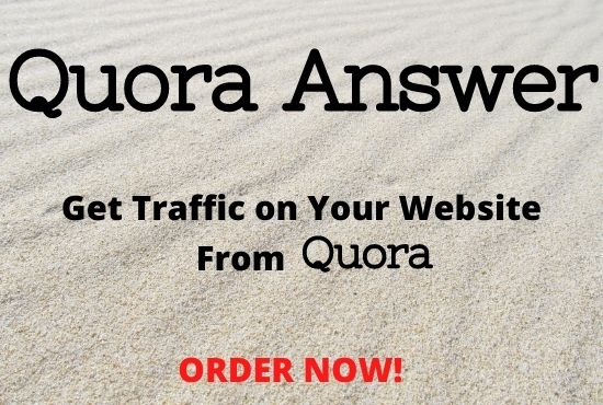 Advertise Your Website in 10 Quora answer with backlink