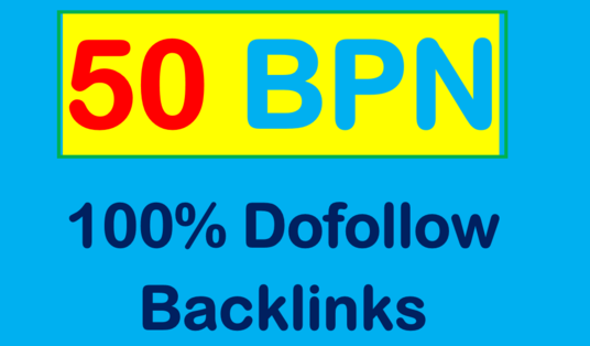 I Will provide 50 Pbn Dofollow Homepage Backlinks With High Authority
