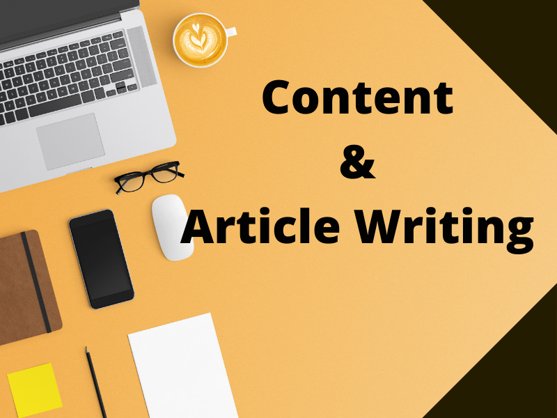 I will write 1200+ word SEO Optimized Article & Content writing