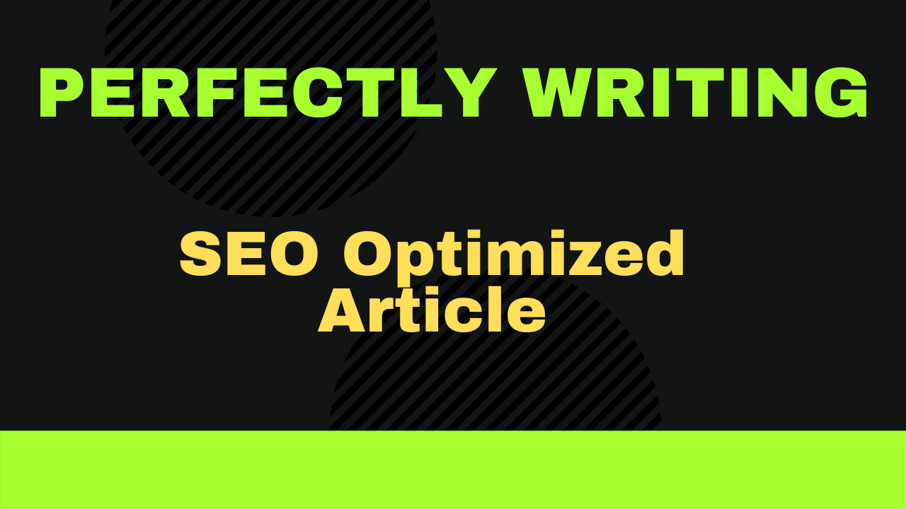 300+ words Perfectly write SEO content,  article or blog