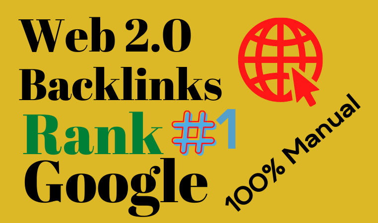 20 Web 2.0 High Quality Dofollow Backlinks Linkbuilding unique content