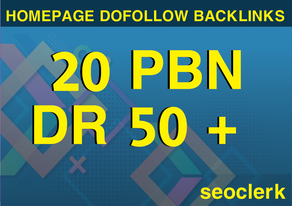 20 pbn dr50+ permanent Homepage Dofllow