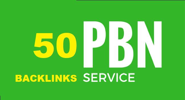I Will 50 High PBN DA 25 + perment Homepage backlink Dofollow
