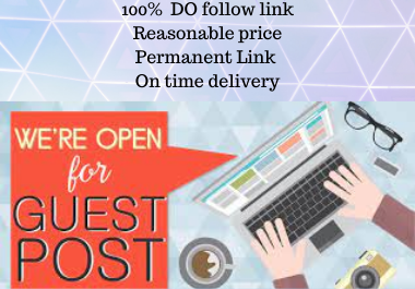 Write and Publish 15 Guest Post Rank Booster rank fast permanent backlink contextual Link building