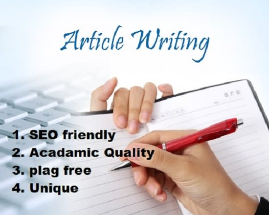 I will write a 500 word article on a desired topic