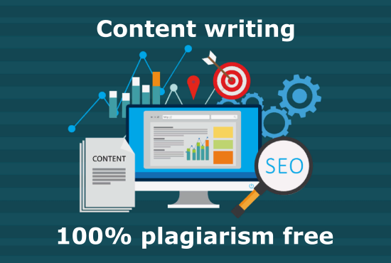 I will write SEO friendly & Plagiarism free content.