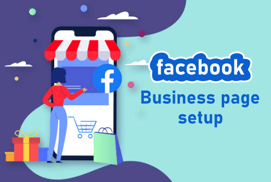 I will create and setup facebook business page for you.