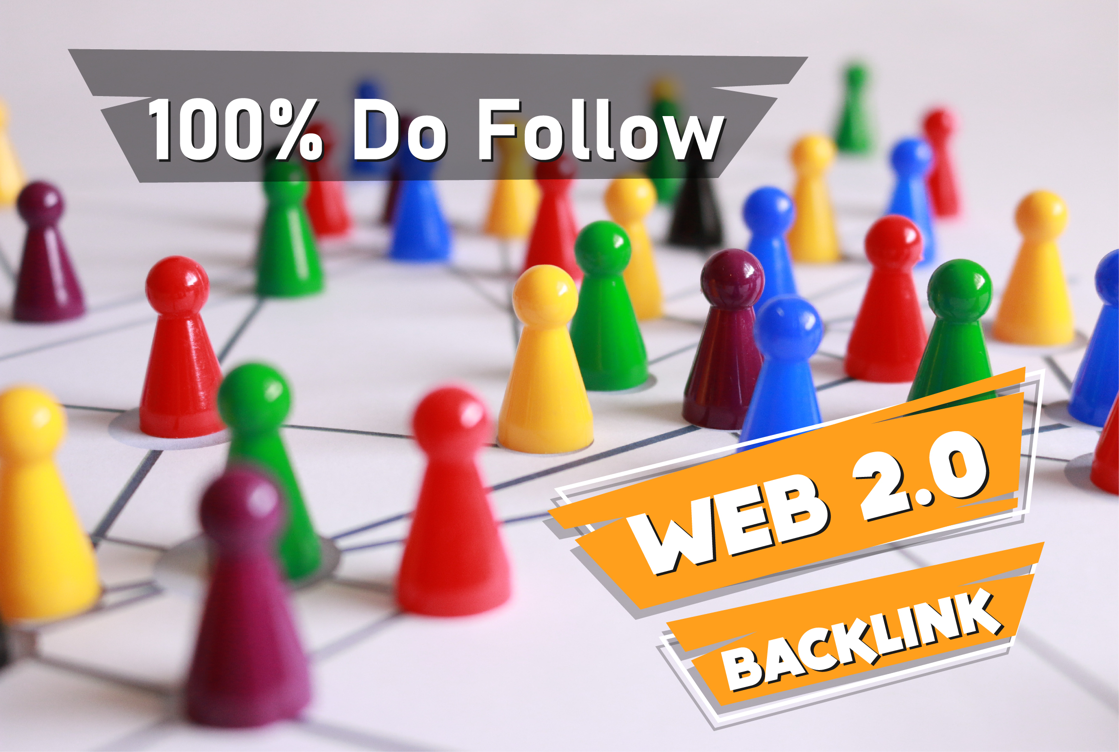 I'll do 50 high Authority DA & PA web 2.0 Backlinks manually