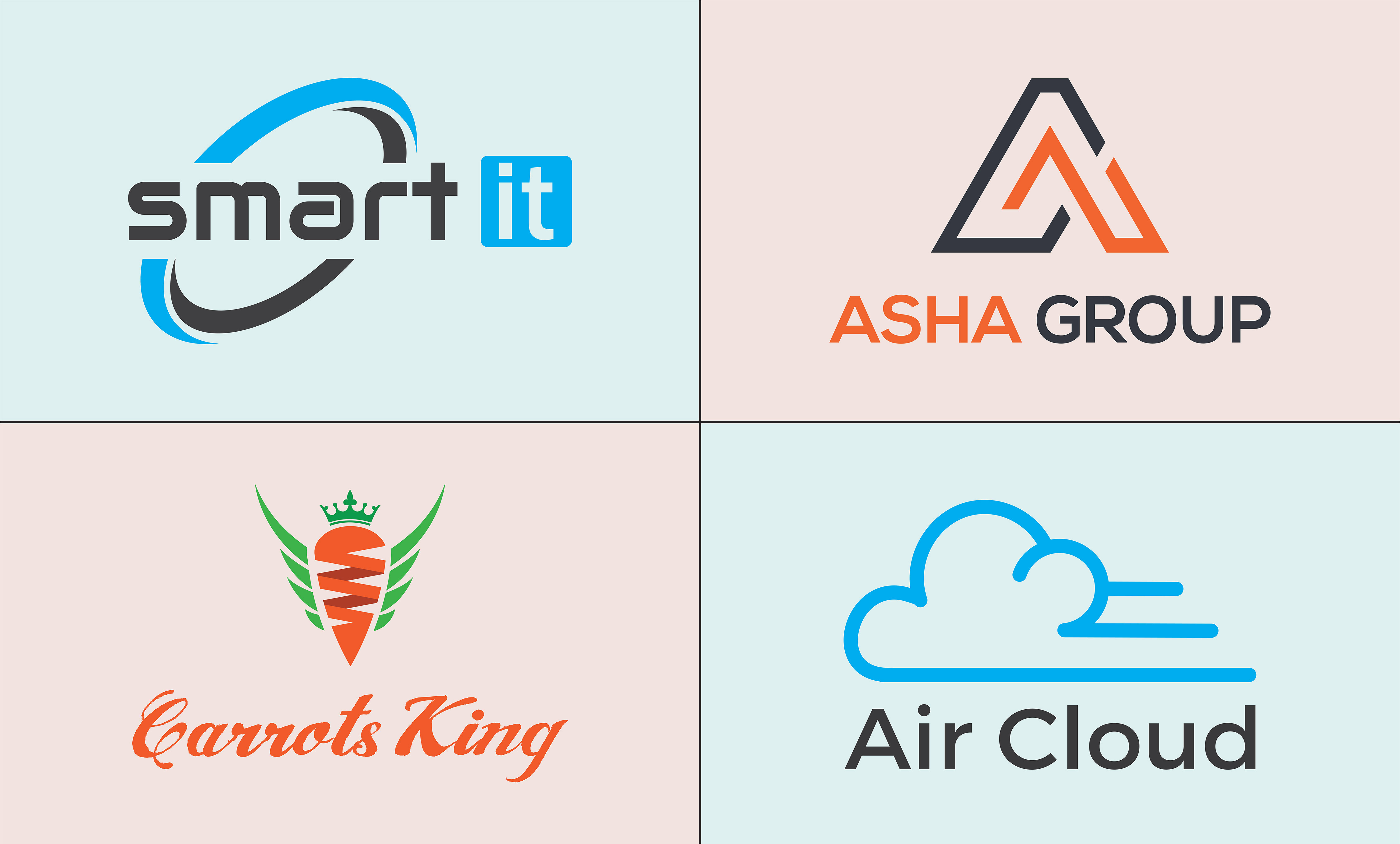 I design Business, company, trendy, and this types of the logo within 24 hours