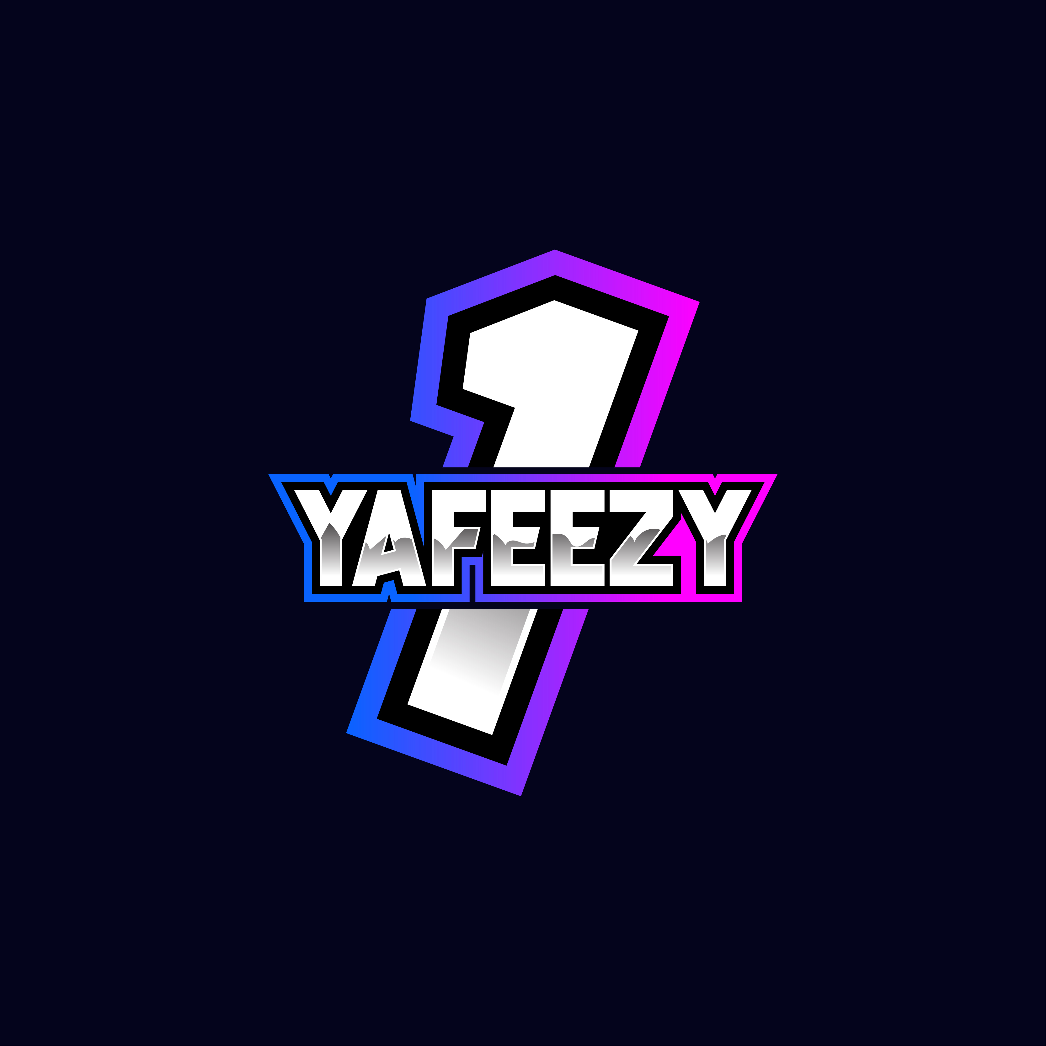 I will design gaming, avatar, twitch, YouTube and text base logo for e-sports.
