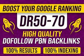 Build 20 High DR 50To70 HomePage PBN Backlinks - Dofollow Quality Backlinks