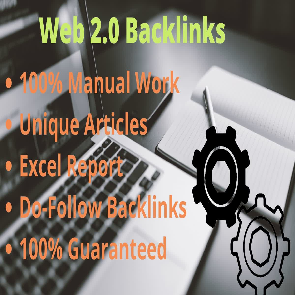I will build 70 Web 2.0 Do-follow backlinks for you