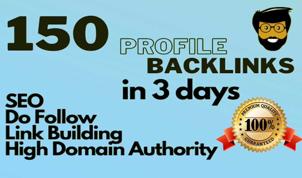 I Will Provide create 85 pr9 da 95 high authority do follow profile back-links