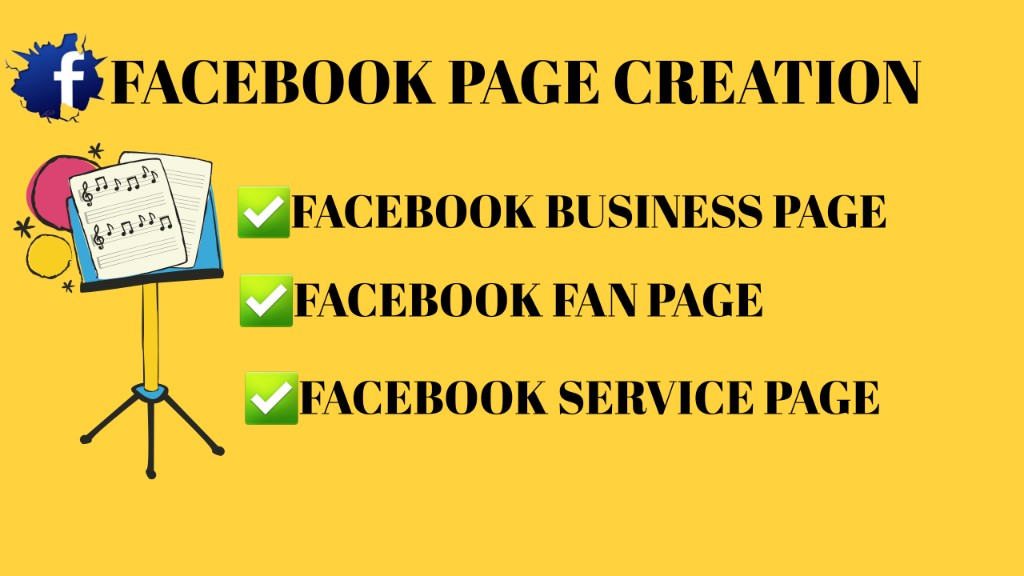 I will create SEO optimize Facebook business page & service page
