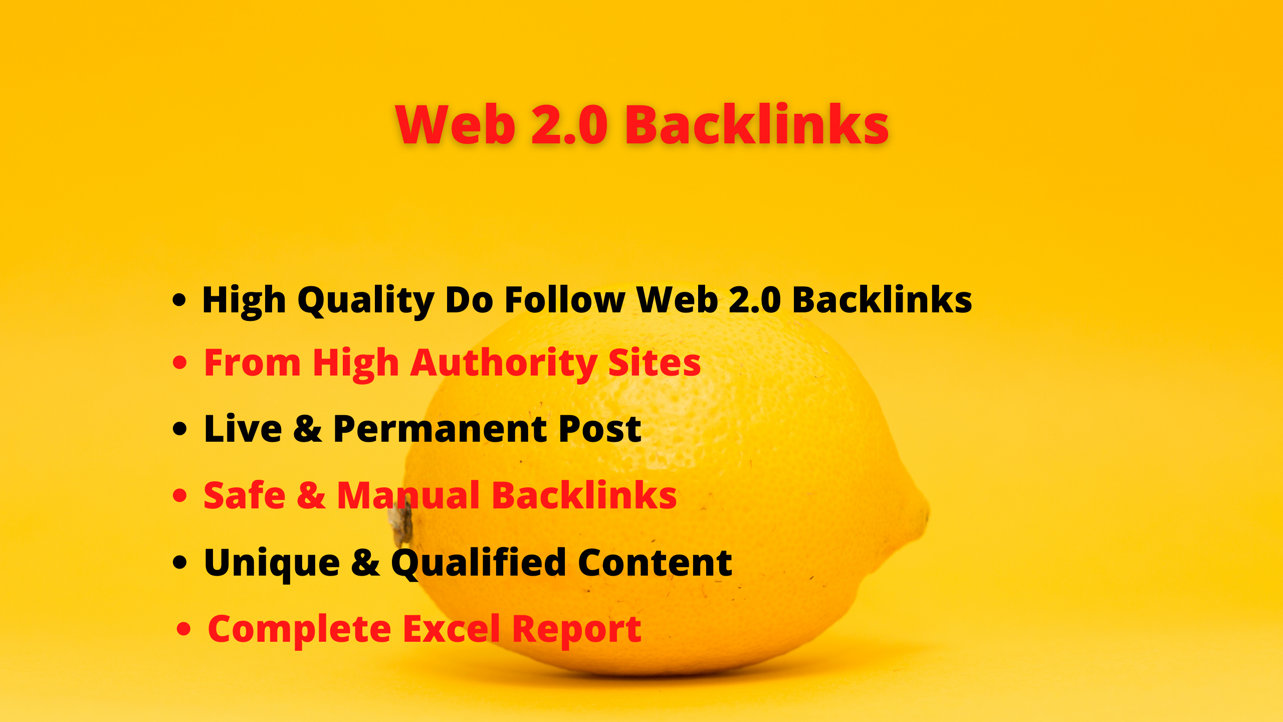 I will build 20 web 2.0 backlinks