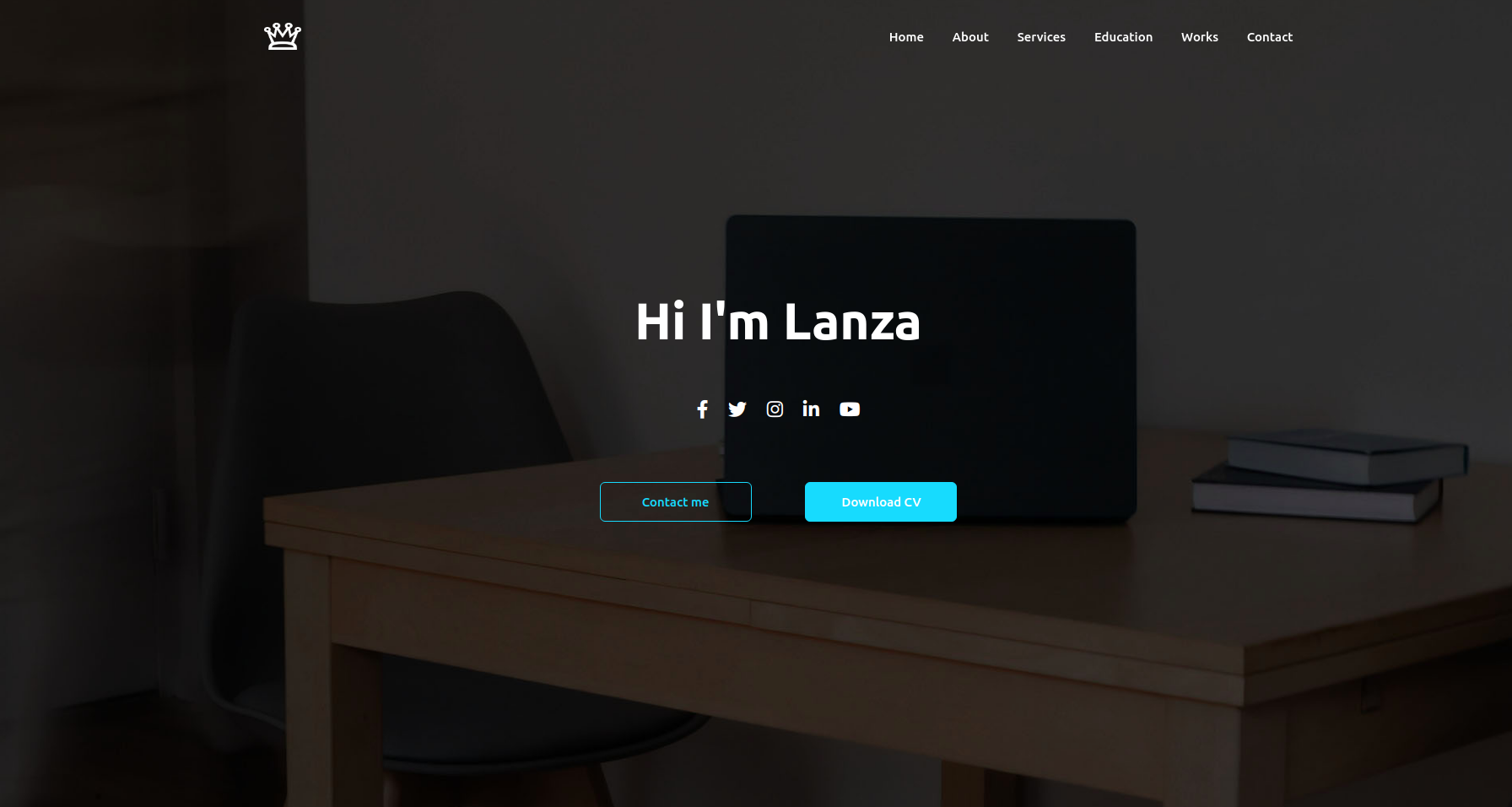 Professional & Responsive Personal Website HTML5, CSS3, JavaScript