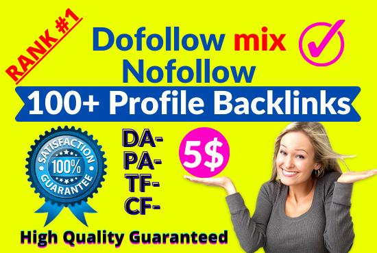 I will do high domain authority70 90 PR9 SEO profile backlinks