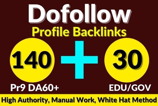 170 USA pr10, edu dofollow SEO backlinks link building for google top ranking