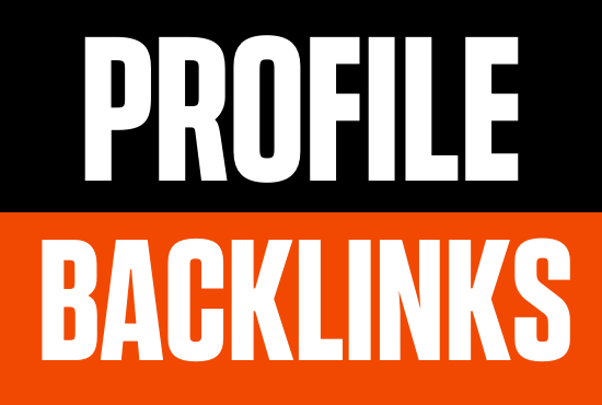50 Only Dofollow Profile Backlinks Creations 80+DA PR9 White hat SEO